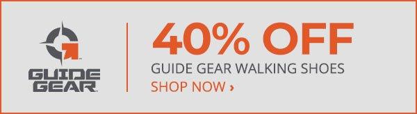 40% Off Guide Gear Walking Shoes