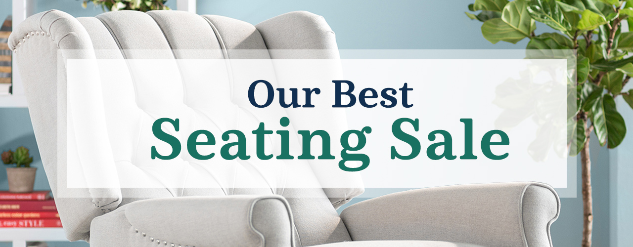 Seating Sale (ends 8/1)
