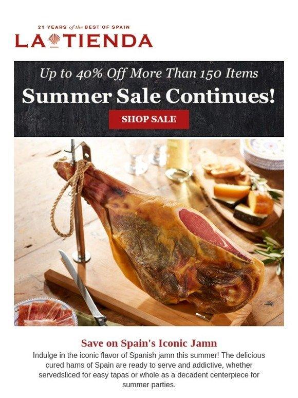 La Tienda: Delicious Cured Spanish Ham & 150 More Items on