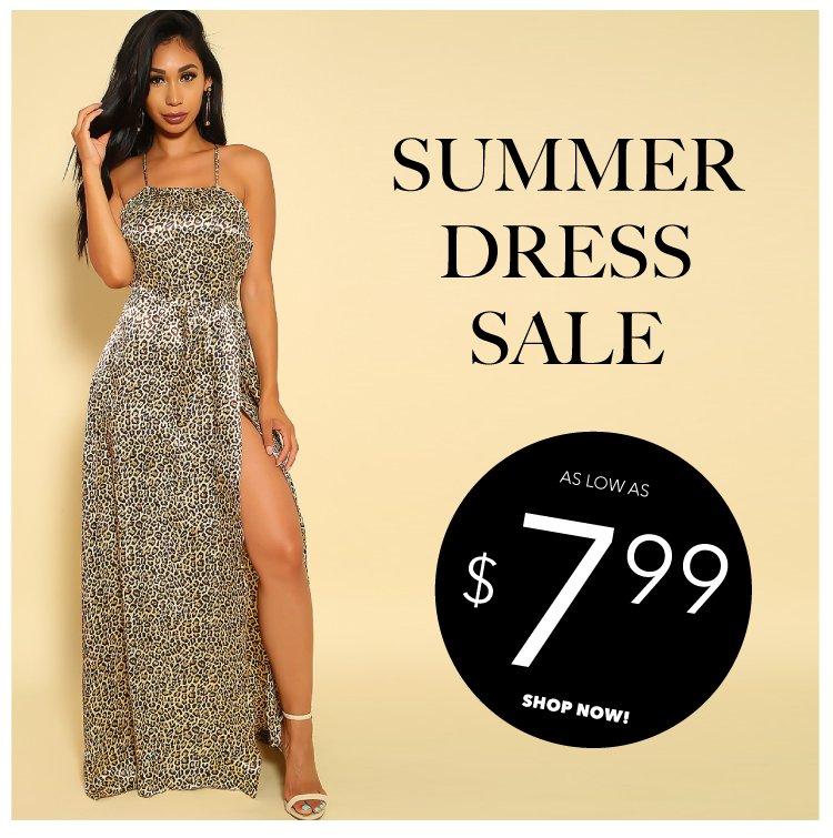 Shop Summer Dresses on sale