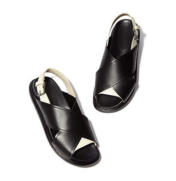 Marni Fussbett Leather Sandals $780