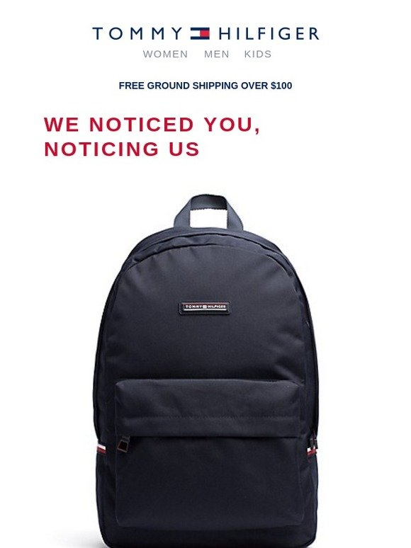 Tommy Hilfiger Tommy Backpack And More Milled
