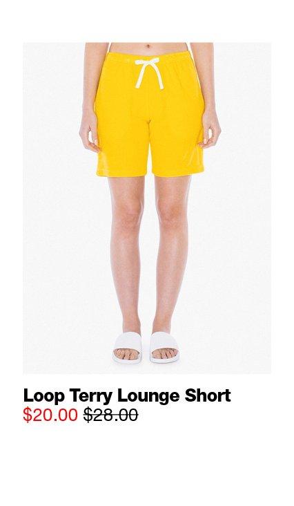 Loop Terry Lounge Short