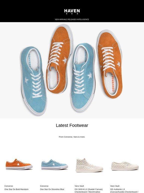 Haven  Latest Footwear  Converse c1bee4093
