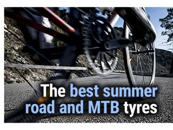 Our pick of the best summer road and mountain bike tyres