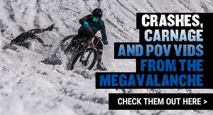 The best crashes, carnage and POV videos from Megavalanche 2018