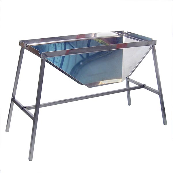 Stainless Steel Stand for manual De-Stemmers/Crushers