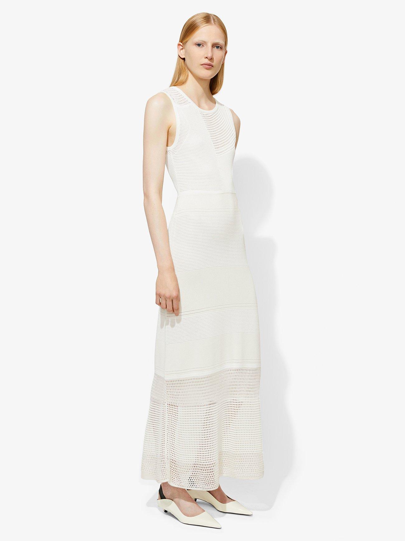 Sleeveless Crewneck Dress
