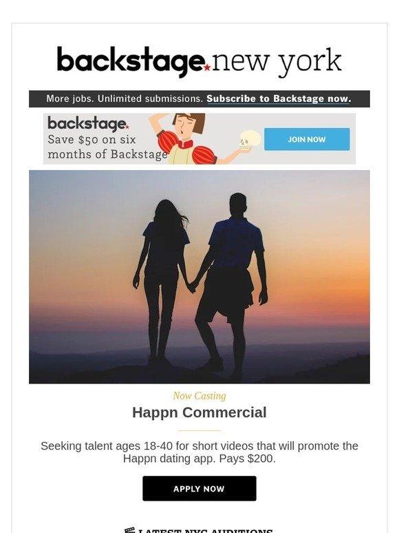 Happn dating app commercial