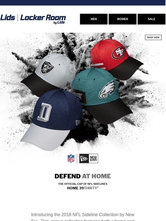 fa746784a New Era  Just Released  The 2018 New Era NFL Sideline Collection ...