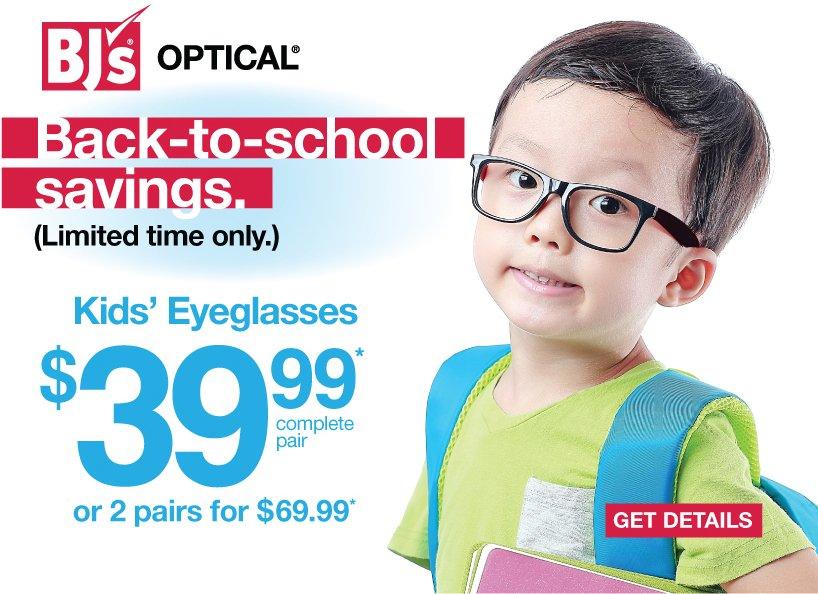 bjs eye glasses