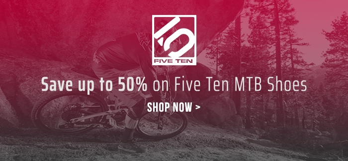Save up to 50% on Five Ten MTB Shoes