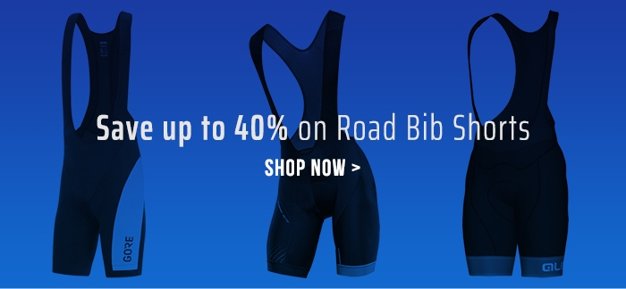 Save up to 40% on Road Bib Shorts