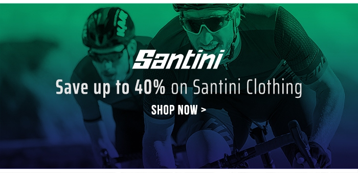 Save up to 40% on Santini Clothing