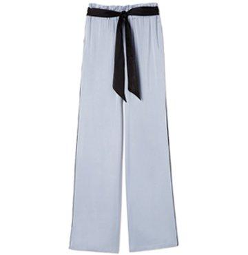 Asceno Silk-Satin Wide-Leg Trousers $350