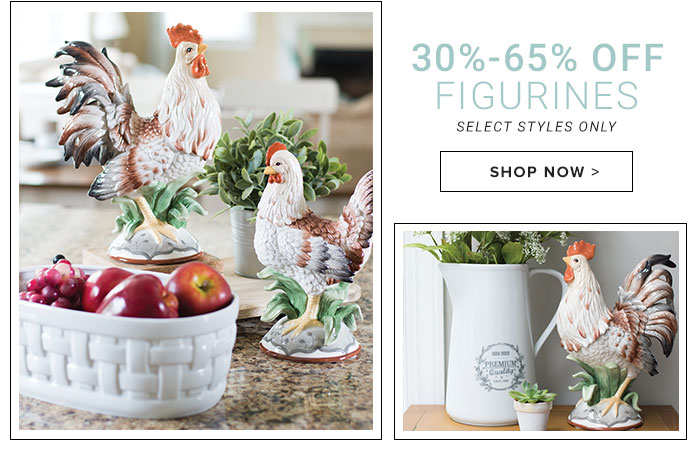 30-65% Off Figurines