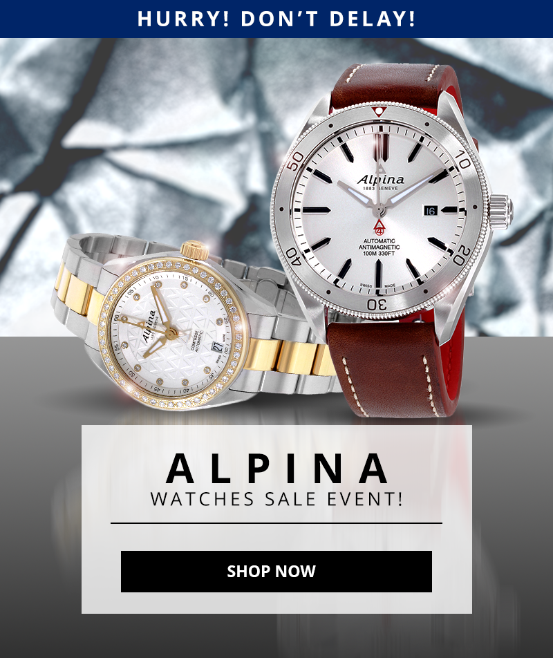 Certified Watch Store Blowout Prices Alpina Watches Milled - Alpina watches prices