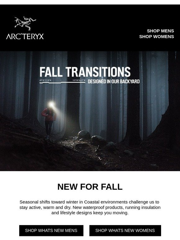 703c4afee244 Arcteryx  New Fall collection  All-weather solutions