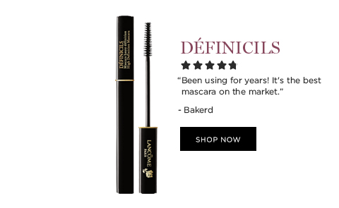 DFINICILS  'Been using for years! Its the best mascara on the market!' -Bakerd  SHOP NOW