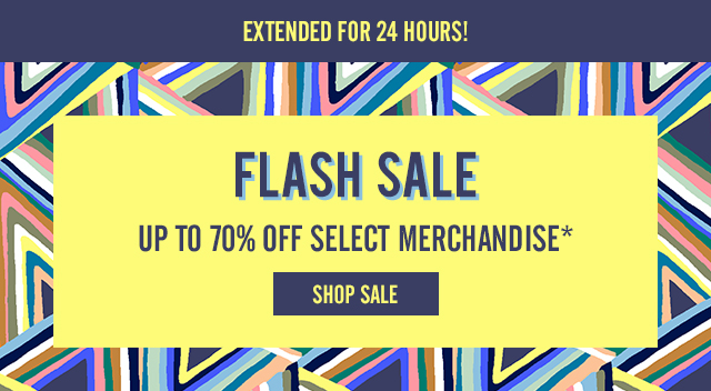 Flash Sale Extended for 24 Hours!
