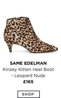 Kinzey Kitten Heel Boot