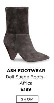 Doll Suede Boots