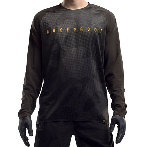 Nukeproof Nirvana Long Sleeve Jersey - Camo