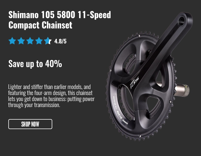 Shimano 105 5800 11-Speed Compact Chainset