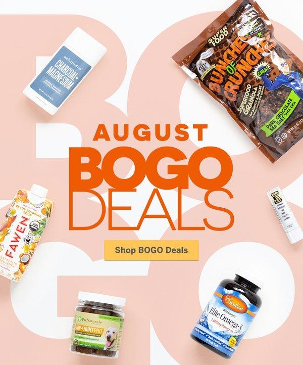 August BOGO Deals - Hundreds Of Items, This Month Only! | Shop BOGO Deals