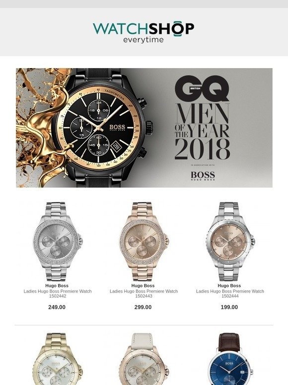ab902b0f62c WatchShop.com: New in Hugo Boss watches ⌚ | Milled