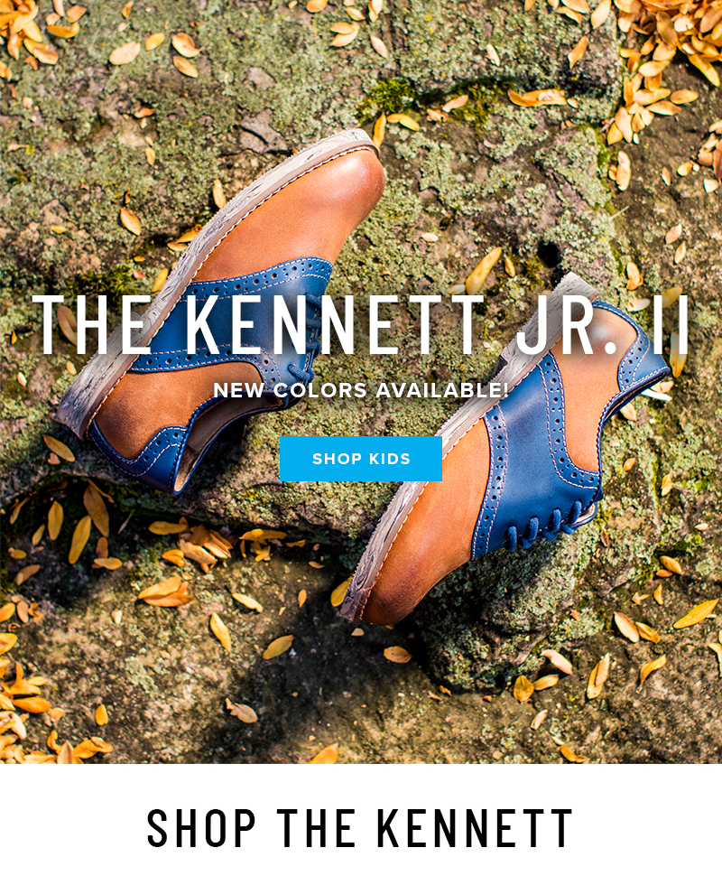 Take his style up a notch with the Kennett Jr. II Collection. NEW styles available! Display images to learn more!