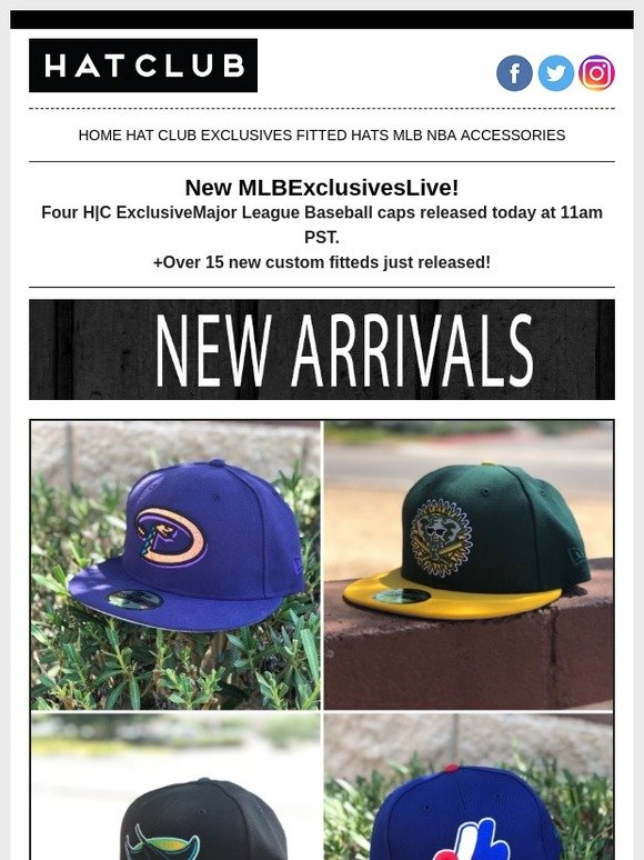 Hat Club: 😍 20+ New Hats Online Now! 😻 | Milled