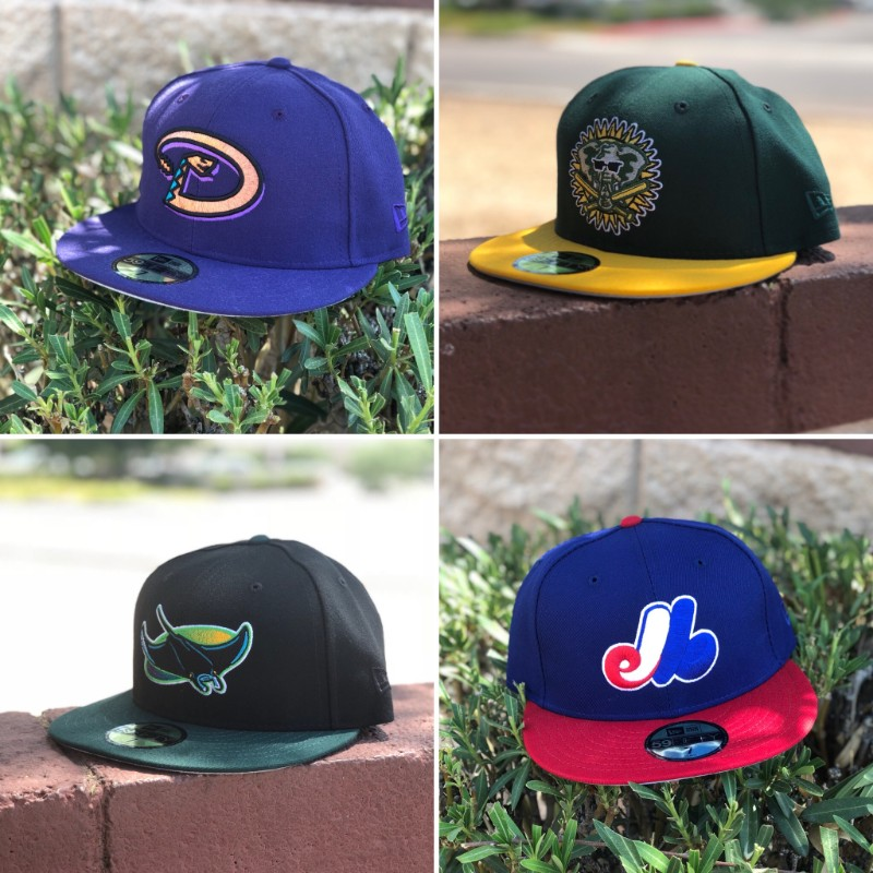 b08a21aedfc Four Custom MiLB Caps Release Today at11am PST Today we released 4 custom  MLB caps.