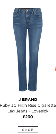 Ruby 30 High Rise Cigarette Leg Jeans
