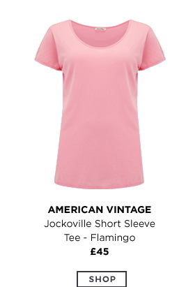 Jockoville Short Sleeve Tee Flamingo