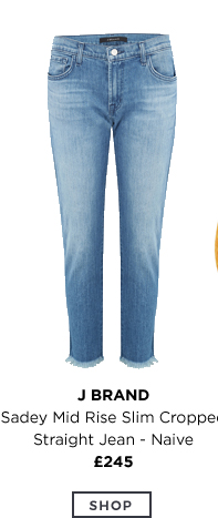 Sady Mid Rise Slim Cropped Jeans