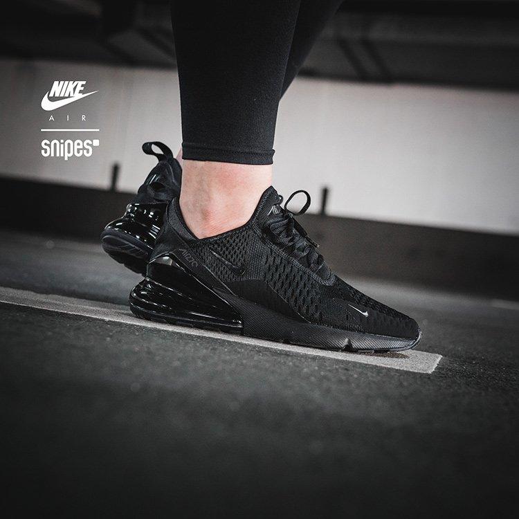 NIKE Air Max 270 blackblackblack Sneaker bei SNIPES bestellen
