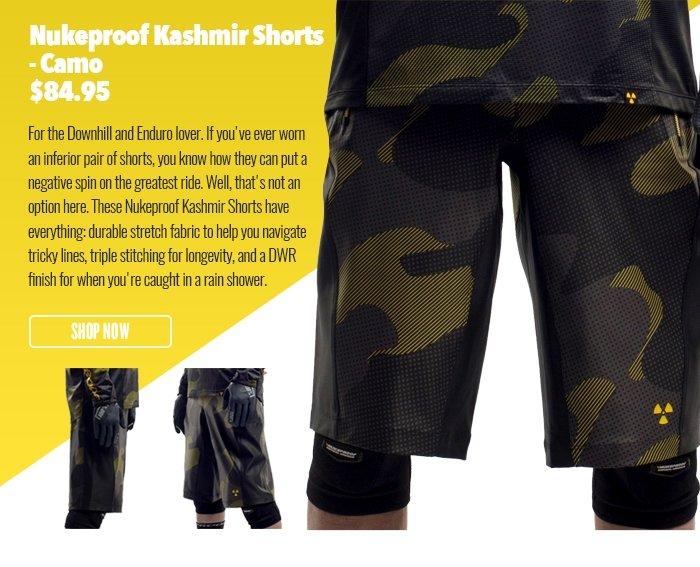 Nukeproof Kashmir Shorts - Camo