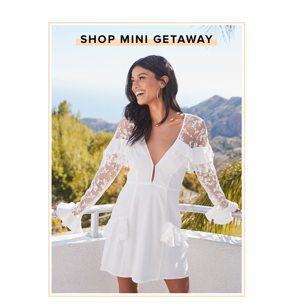 Shop Mini Getaway.