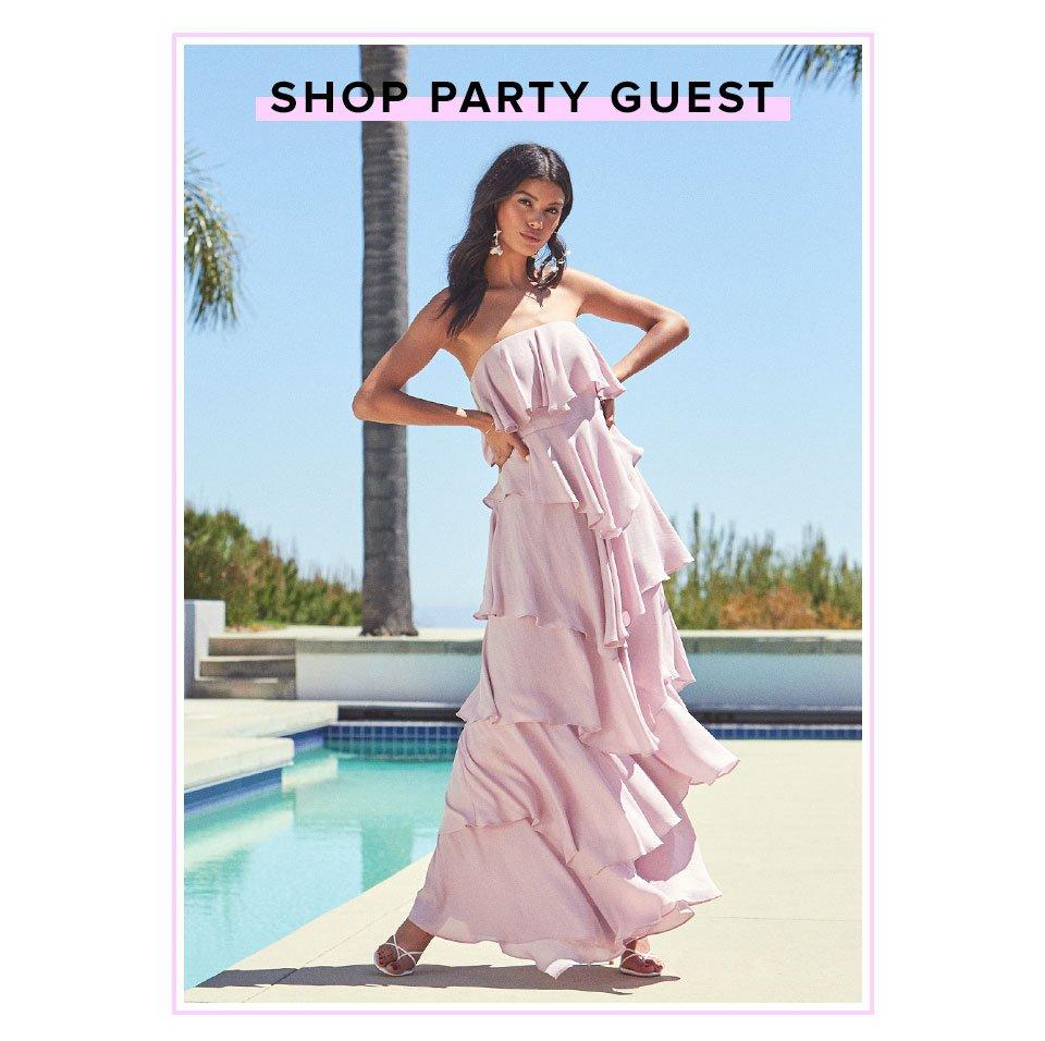 Shop Party Guest.