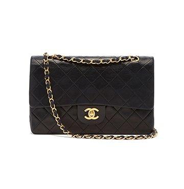 What Goes Around Comes Around Chanel Black Lambskin 2.55 Bag $3,950