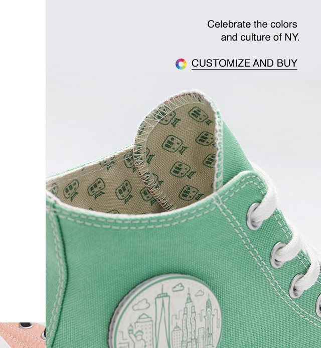 Customize and Buy: Custom Converse Chuck 70 New York Edition High Top