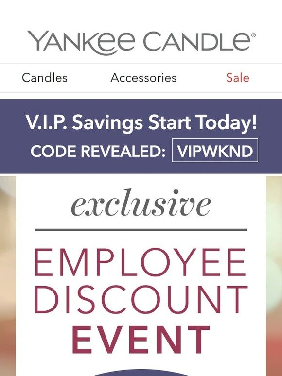 yankee candle employee website