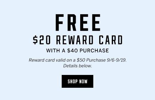 Reward Card