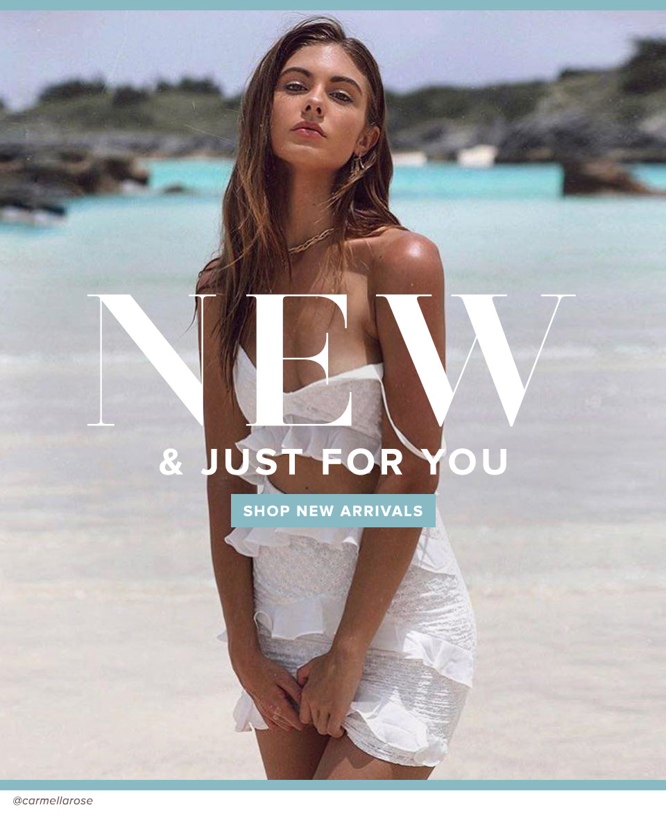 New & just for you. Shop new arrivals.