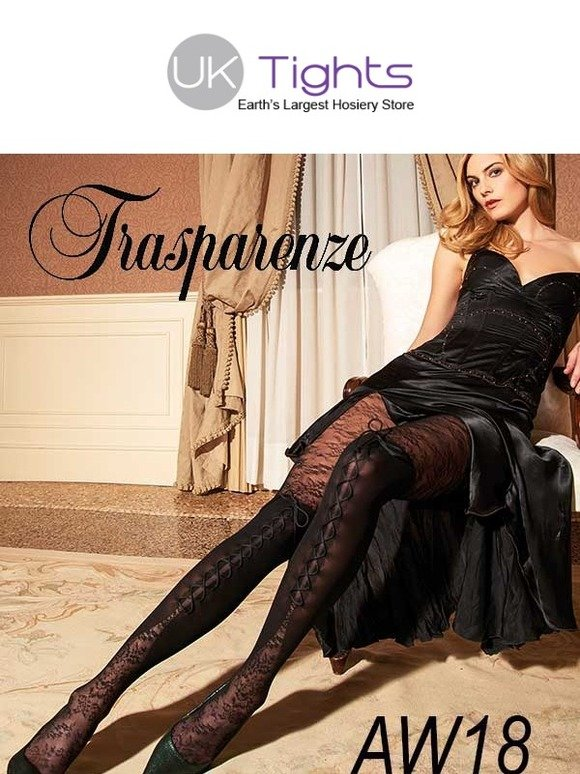 3da23d8e5 UK Tights  The Amazing Trasparenze AW18 Fashion Has Arrived.