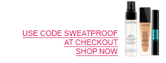 USE CODE SWEATPROOF AT CHECKOUT. SHOP NOW.