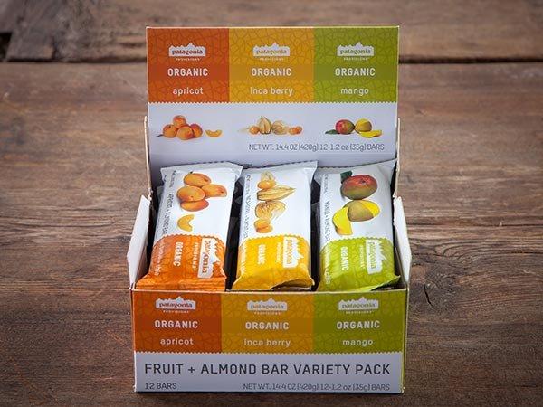 Organic Fruit + Almond Bar Variety Pack