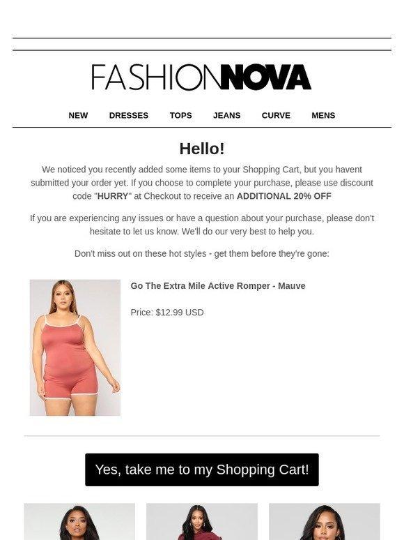 259dd05bc459 Fashion Nova  Hey You Forgot Something