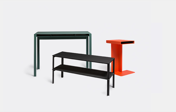Industrial lightness and magic from Nomess Copenhagen's tables